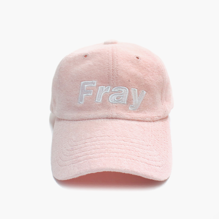 프레이 Towel Ball Cap // Pink