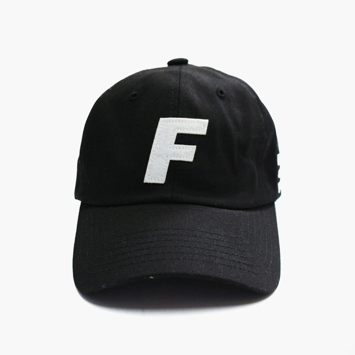 프레이 Logo Ball Cap // Black