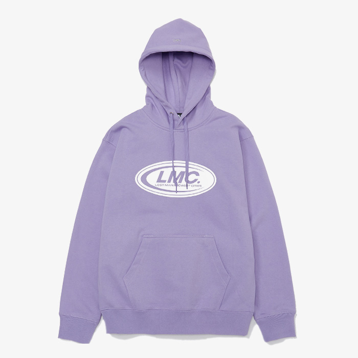 엘엠씨 LMC REFLECTIVE LOGO HOODIE // POWDER PURPLE