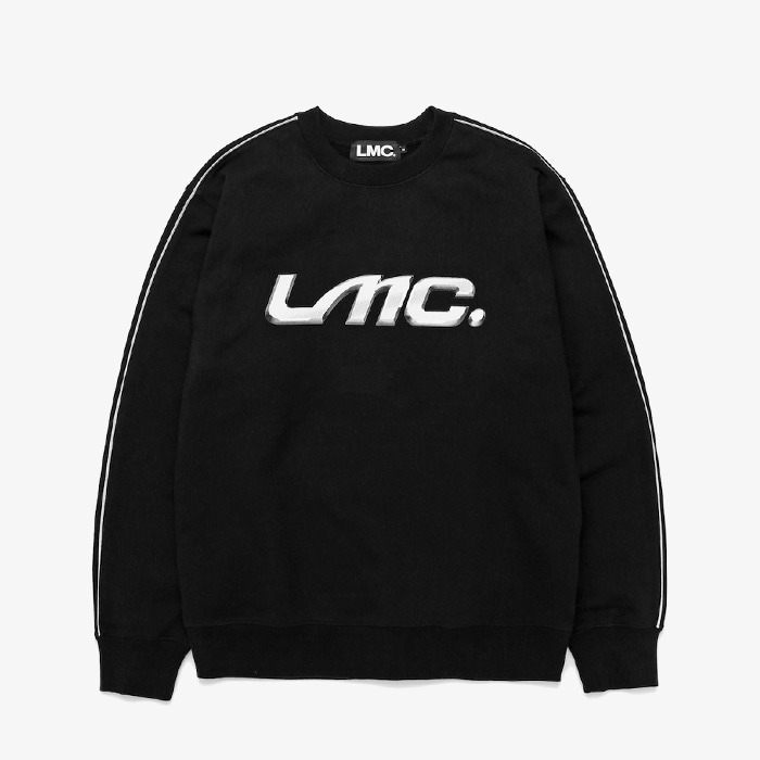 엘엠씨 LMC CHROME EMBLEM SWEATSHIRT // BLACK (재입고)