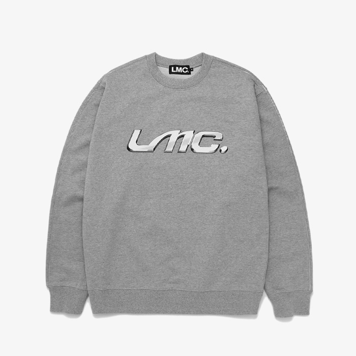 엘엠씨 LMC CHROME EMBLEM SWEATSHIRT // HEATHER GRAY(재입고)