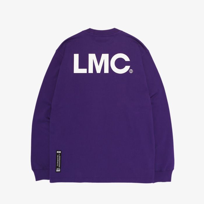 엘엠씨 LMC OG LOGO BASIC LSV TEE // purple (재입고)