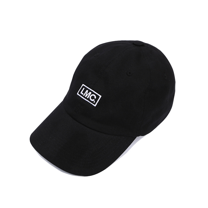 엘엠씨 LMC BOLD BOX LOGO 6 PANEL CAP/BLACK