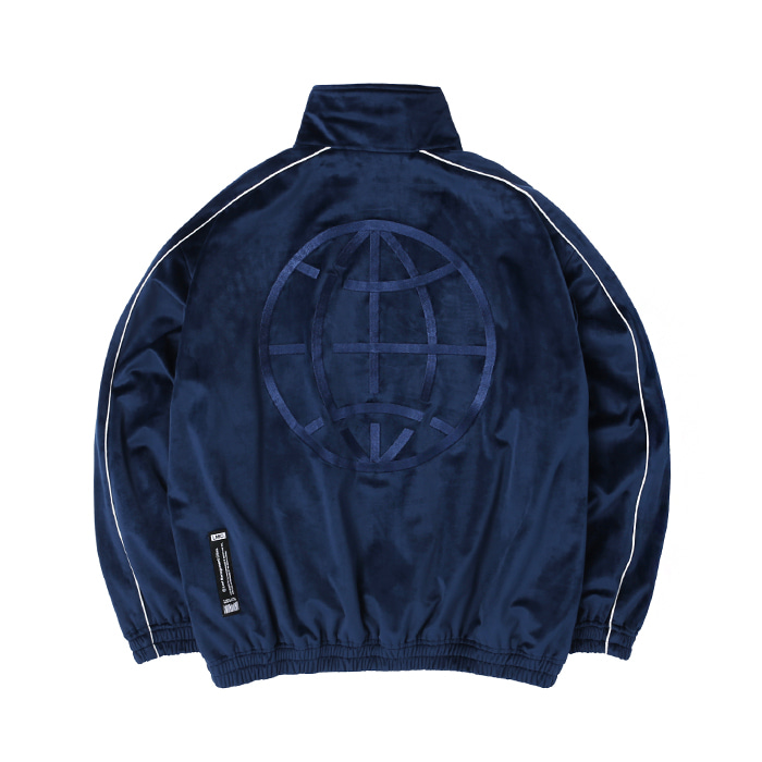 엘엠씨 LMC VELOUR TRACK TOP/navy