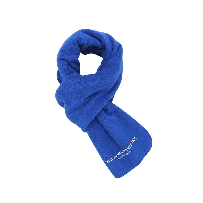 엘엠씨 LMC FLEECE MUFFLER/royal blue