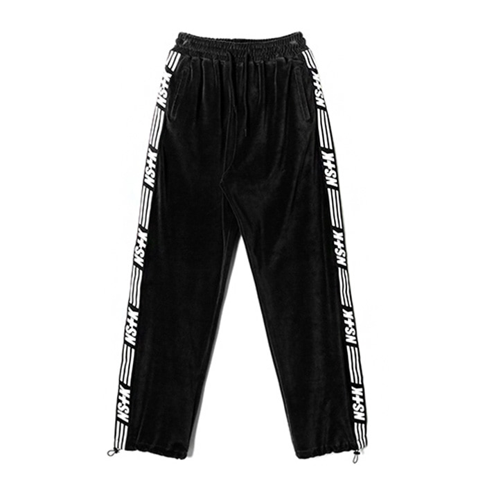 네스티킥 NSTK VELOURS PANTS/BLACK