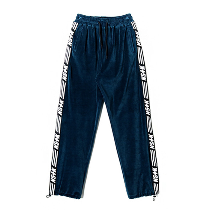네스티킥 NSTK VELOURS PANTS/NAVY