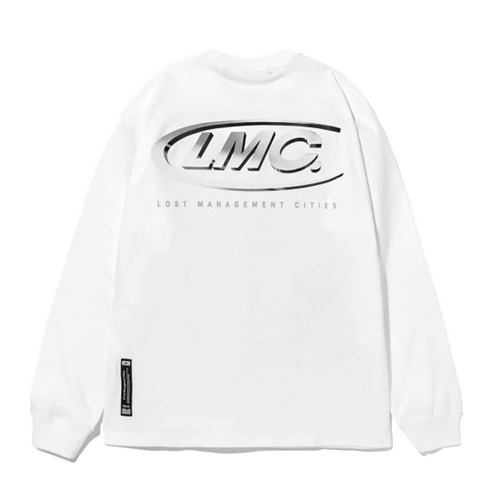 엘엠씨 롱슬리브 LMC 3D CO LONG SLV TEE/white
