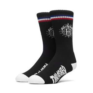 허프 트레셔 콜라보 THRASHER TDS SOCK & CAN // BLACK