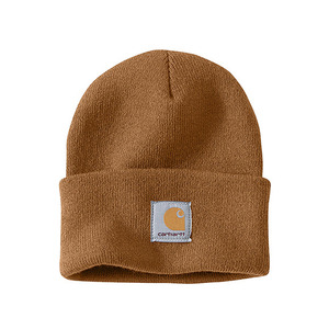 칼하트 비니 acrylic watch hat beanie  // carhartt brown