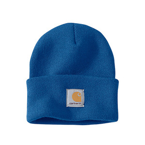 칼하트 비니  acrylic watch hat beanie   // cobalt blue