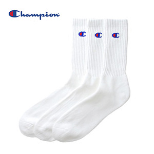 챔피온 Champion Socks (3PAIR 1PACK)  // white