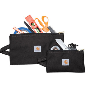 칼하트  Legacy Utility Pouches - Set of 2 // BLACK