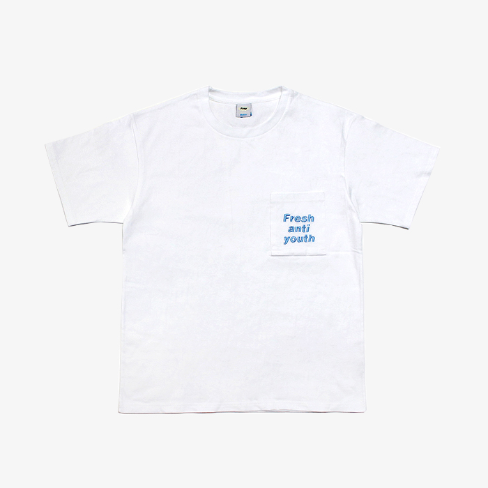 프레이 Logo Pocket T-Shirts // White