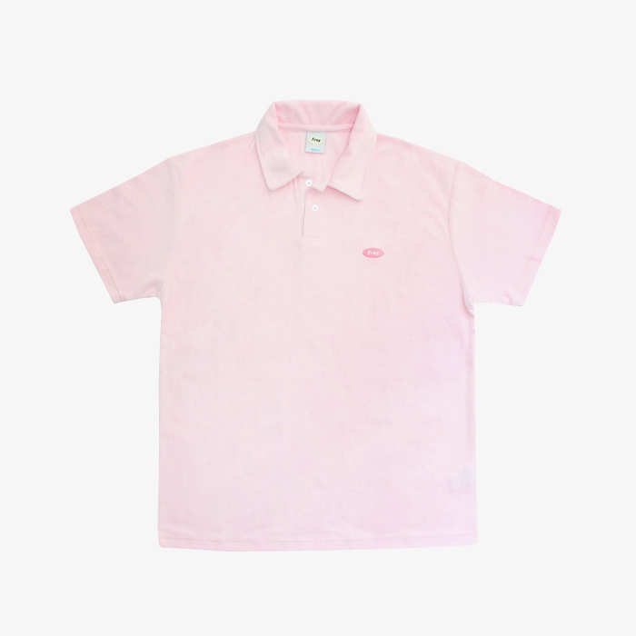 프레이 Logo Terry Shirts // Pink