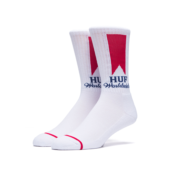 허프 ULTRA CREW SOCKS // WHITE