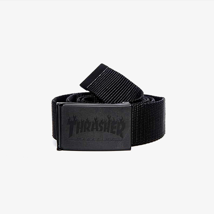 트레셔 벨트 FLAME BELT //  BLACK