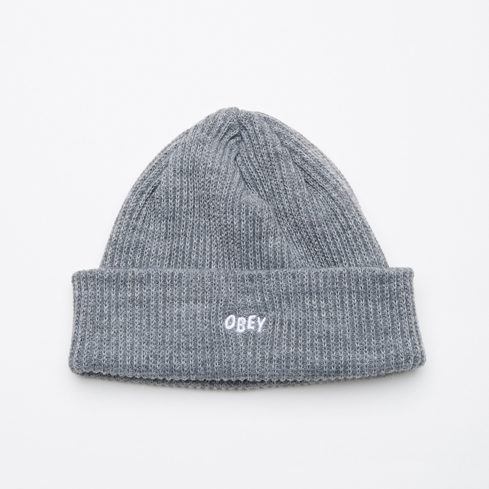 오베이 비니  HANGMAN BEANIE // HEATHER GREY