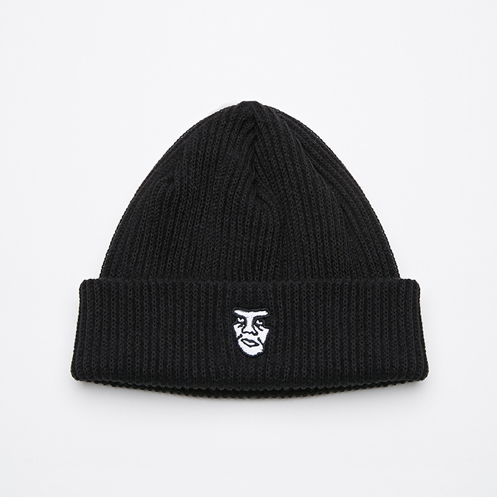 오베이 비니 CREEPER BEANIE II // BLACK