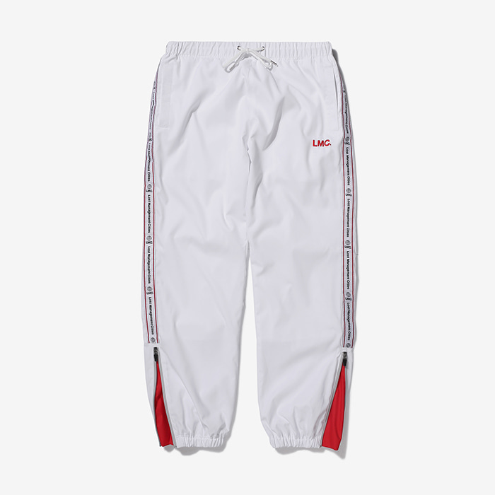 엘엠씨 LMC TAPED TRACK PANTS // white