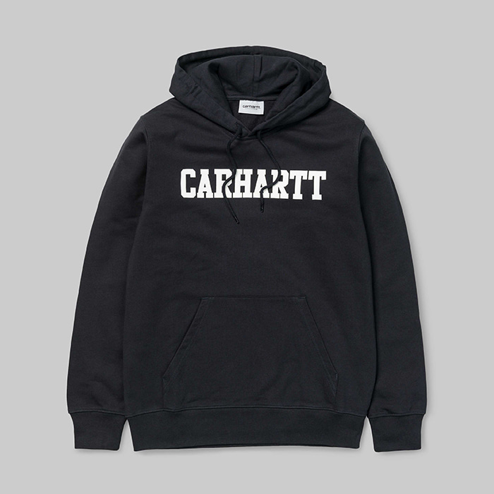 칼하트WIP 후드  HOODED COLLEGE SWEAT // DARK NAVY/WHITE