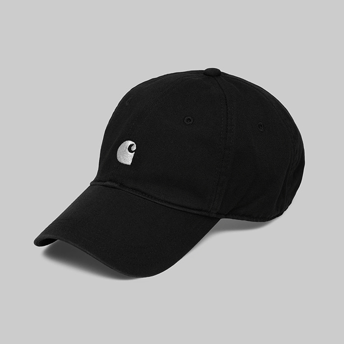 칼하트WIP MAJOR CAP //  BLACK/WHITE