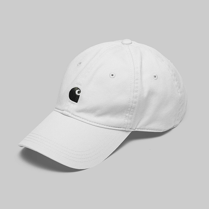 칼하트WIP MAJOR CAP // WHITE/BLACK