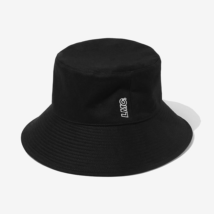 엘엠씨 버킷햇 LMC LONG BUCKET HAT // black