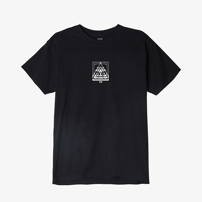 오베이 OBEY 3 FACE TOP PYRAMID // BLACK