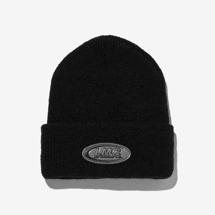 엘엠씨 비니 PVC RL LONG BEANIE REMAKED BY LMC // black
