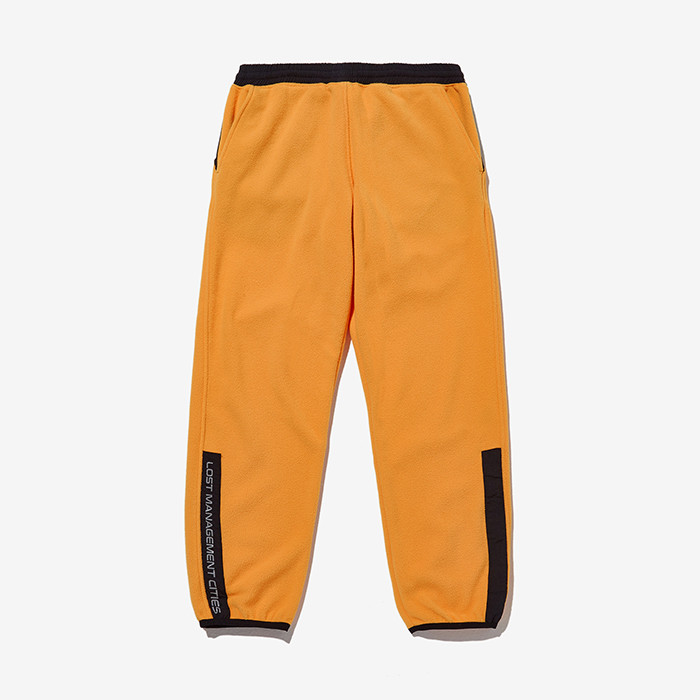엘엠씨 LMC FLEECE TRACK SUIT JOGGER PANTS // yellow