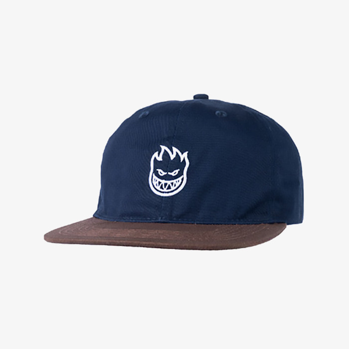 스핏파이어  LIL BIGHEAD STRAPBACK // DARK NAVY/BROWN