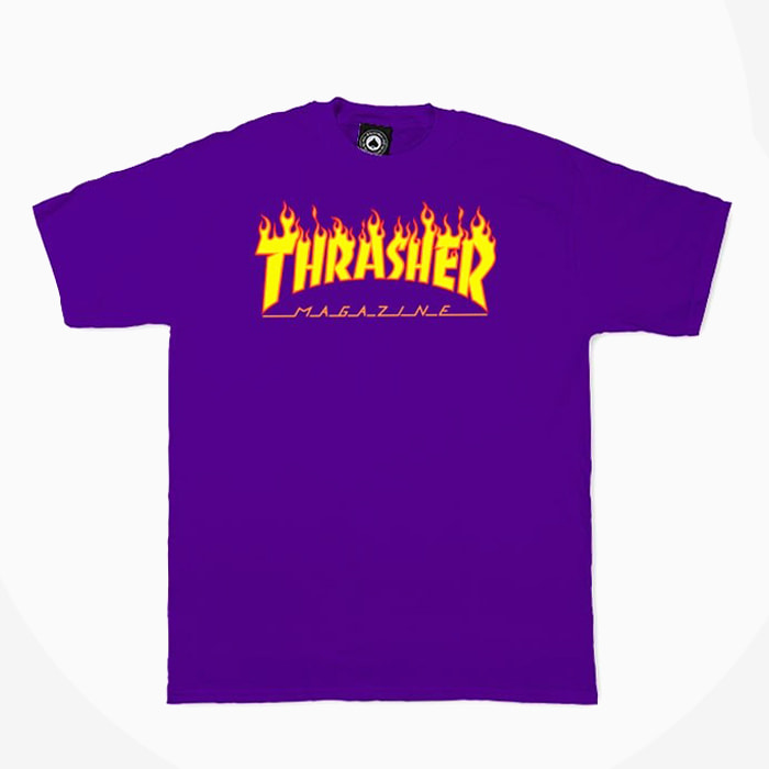 트레셔 FLAME S/S // PURPLE