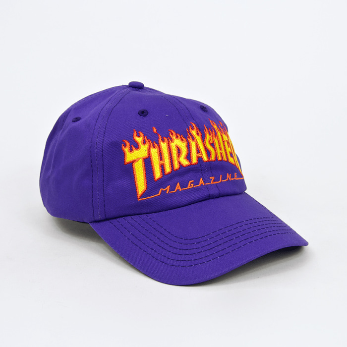 트레셔 FLAME OLD TIMER HAT // PURPLE