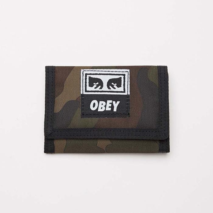 오베이 DROP OUT TRI FOLD WALLET // FIELD CAMO