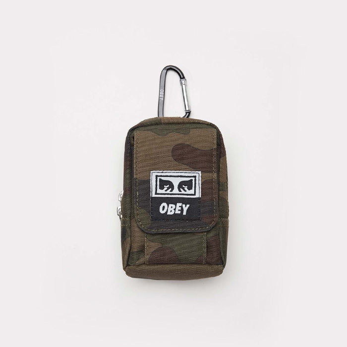 오베이 DROP OUT UTILITY SMALL BAG // FIELD CAMO