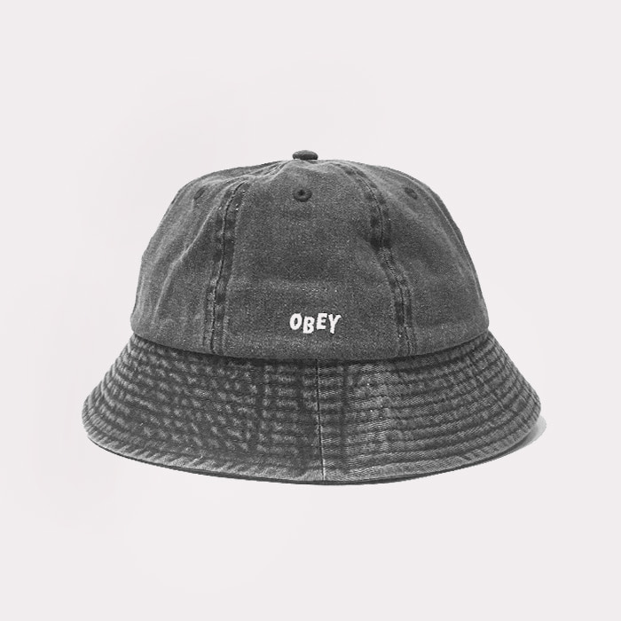 오베이 DECADES BUCKET HAT // BLACK