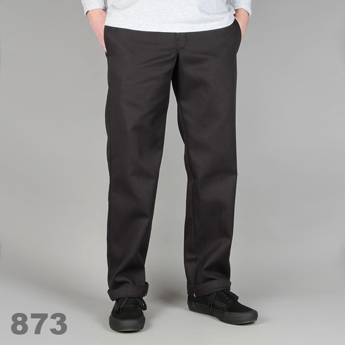 디키즈 Dickies 873 Slim Work Pant / Black