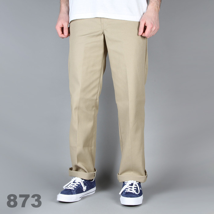 디키즈 Dickies 873 Slim Work Pant / Khaki