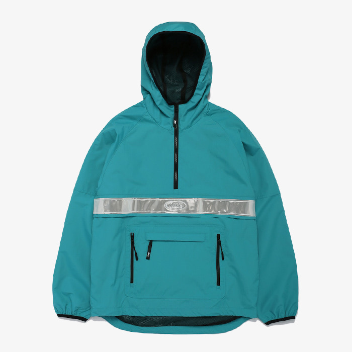 엘엠씨 LMC REFLECTIVE ANORAK JACKET // TEAL