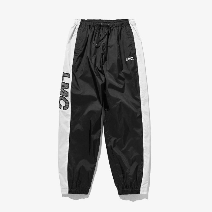 엘엠씨 LMC LOGO MESHED TRACK SUIT PANTS // BLACK
