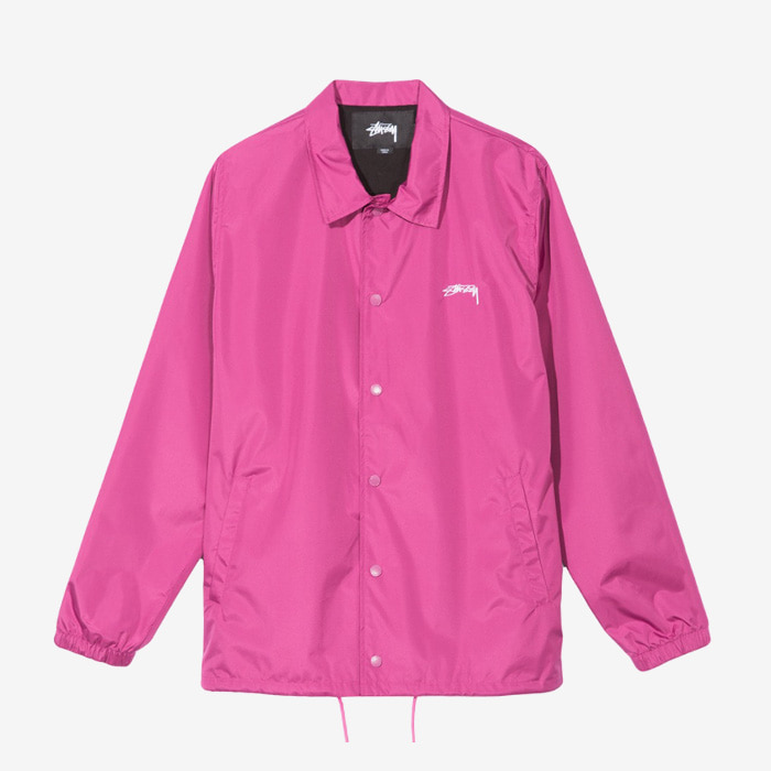 스투시 CRUIZE COACH JACKET / BERRY