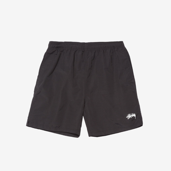 스투시 STOCK WATER SHORT / BLACK