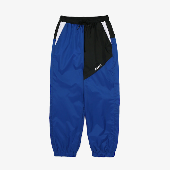 엘엠씨 팬츠 바지 LMC UNBALANCE TRACK SUIT PANTS // BLUE