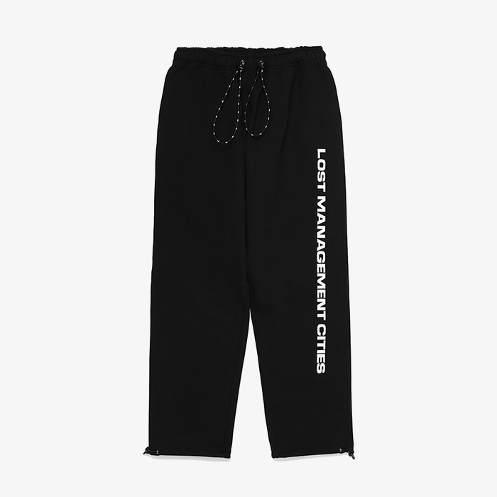 엘엠씨 LMC STRING SWEAT PANTS // BLACK