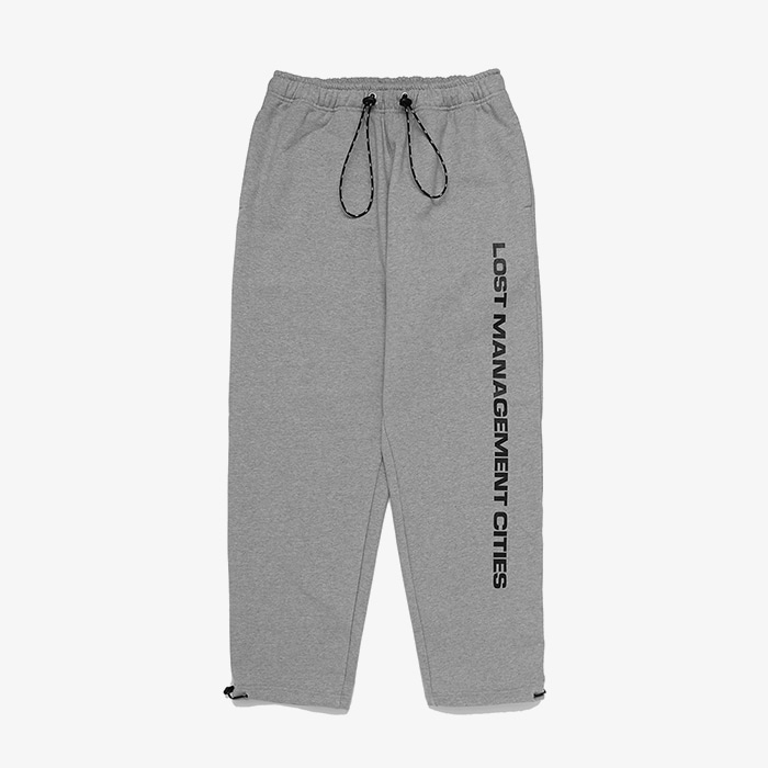 엘엠씨 LMC STRING SWEAT PANTS // HEATHER GRAY