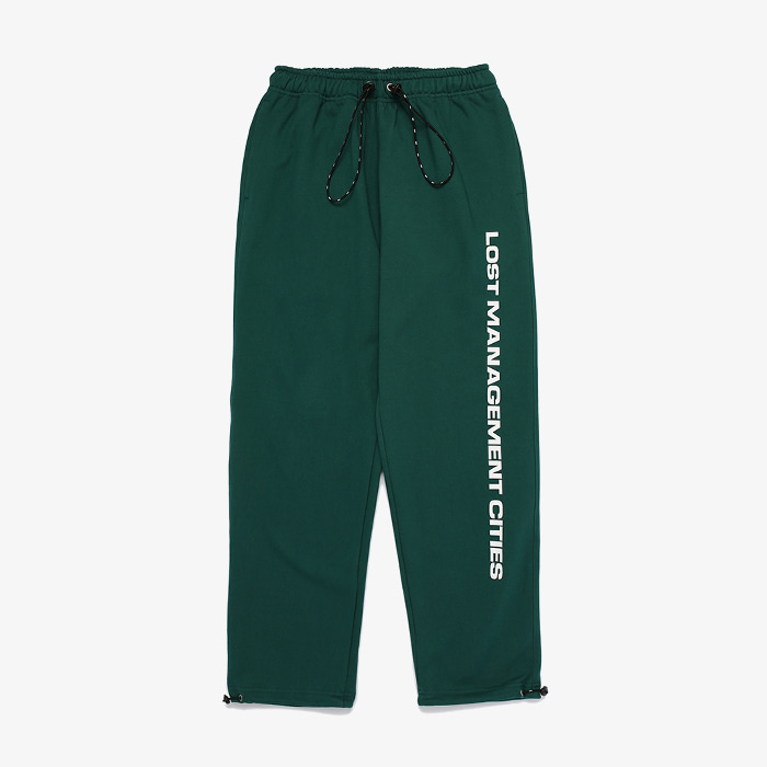 엘엠씨 LMC STRING SWEAT PANTS // GREEN