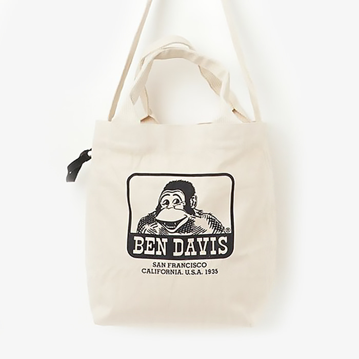 벤데이비스 BEN DAVIS TOTE BAG // NATURAL