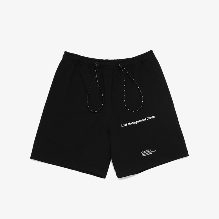 엘엠씨 LMC STRING SWEAT HALF PANTS // black (재입고)