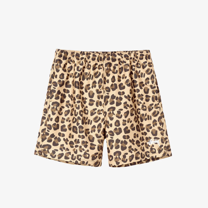 스투시 LEOPARD WATER SHORT // LEOPARD